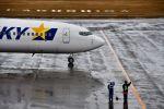 bestguyさんが、鹿児島空港で撮影したスカイマーク 737-86Nの航空フォト(写真)