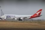 スターアライアンスKMJ H・Rさんが、羽田空港で撮影したカンタス航空 747-438/ERの航空フォト(写真)