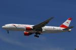 LAX Spotterさんが、ロサンゼルス国際空港で撮影したオーストリア航空 777-2B8/ERの航空フォト(写真)