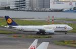 うとさんが、羽田空港で撮影したルフトハンザドイツ航空 747-830の航空フォト(写真)