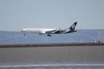 職業旅人さんが、サンフランシスコ国際空港で撮影したニュージーランド航空 777-319/ERの航空フォト(写真)