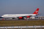 トロピカルさんが、成田国際空港で撮影したヴァージン・アトランティック航空 A340-311の航空フォト(写真)