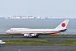 なないろさんが、羽田空港で撮影した航空自衛隊 747-47Cの航空フォト(写真)