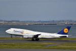 なないろさんが、羽田空港で撮影したルフトハンザドイツ航空 747-830の航空フォト(写真)