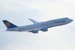 ハネヨンさんが、羽田空港で撮影したルフトハンザドイツ航空 747-830の航空フォト(写真)