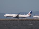 職業旅人さんが、サンフランシスコ国際空港で撮影したユナイテッド航空 737-924の航空フォト(写真)