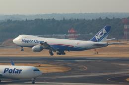 Koenig117さんが、成田国際空港で撮影した日本貨物航空 747-8KZF/SCDの航空フォト(写真)