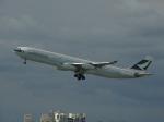 minfengさんが、高雄国際空港で撮影したキャセイパシフィック航空 A340-313Xの航空フォト(写真)