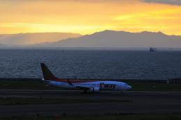 Dream2016さんが、中部国際空港で撮影したティーウェイ航空 737-8BKの航空フォト(写真)