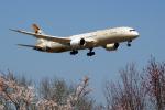 ppuw43さんが、成田国際空港で撮影したエティハド航空 787-9の航空フォト(写真)