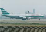 よしポンさんが、成田国際空港で撮影したキャセイパシフィック航空 747-367の航空フォト(写真)