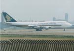 よしポンさんが、成田国際空港で撮影したシンガポール航空 747-312の航空フォト(写真)