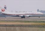 よしポンさんが、成田国際空港で撮影した日本航空 747-346の航空フォト(写真)