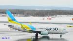 SNAKEさんが、新千歳空港で撮影したAIR DO 737-781の航空フォト(写真)