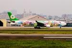 空軍一號さんが、台北松山空港で撮影したエバー航空 A330-302Xの航空フォト(写真)