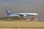 ポン太さんが、成田国際空港で撮影した全日空 777-381/ERの航空フォト(写真)