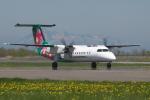 EXIA01さんが、中標津空港で撮影したエアーニッポンネットワーク DHC-8-314Q Dash 8の航空フォト(写真)