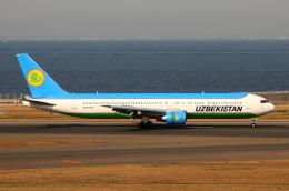 なごやんさんが、中部国際空港で撮影したウズベキスタン航空 767-33P/ERの航空フォト(写真)