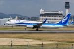 きゅうさんが、伊丹空港で撮影した全日空 737-881の航空フォト(写真)