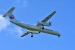 HS888さんが、鹿児島空港で撮影した日本エアコミューター DHC-8-402Q Dash 8の航空フォト(写真)