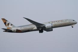 Wings Flapさんが、成田国際空港で撮影したエティハド航空 787-9の航空フォト(写真)
