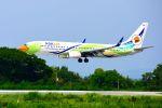まいけるさんが、ピッサヌローク空港で撮影したノックエア 737-88Lの航空フォト(写真)