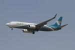 linkinparkさんが、インディラ・ガンディー国際空港で撮影したオマーン航空 737-81Mの航空フォト(写真)