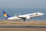 SIさんが、中部国際空港で撮影したスカイマーク 737-86Nの航空フォト(写真)