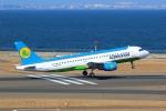 beeさんが、中部国際空港で撮影したウズベキスタン航空 A320-214の航空フォト(写真)