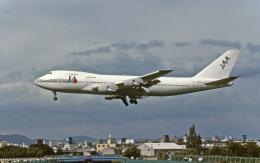 Gambardierさんが、伊丹空港で撮影した日本アジア航空 747-246Bの航空フォト(写真)