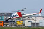 よっしぃさんが、八尾空港で撮影した朝日航洋 AS355F2 Ecureuil 2の航空フォト(写真)