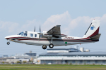 よっしぃさんが、八尾空港で撮影したアジア航測 695 Jetprop 980の航空フォト(写真)
