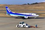 はるかのパパさんが、福島空港で撮影したANAウイングス 737-5L9の航空フォト(写真)