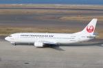 SIさんが、中部国際空港で撮影した日本トランスオーシャン航空 737-4Q3の航空フォト(写真)