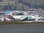 職業旅人さんが、サンフランシスコ国際空港で撮影したフロンティア航空 A320-214の航空フォト(写真)