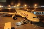 蒲田賢二さんが、アブダビ国際空港で撮影したカタール航空 A330-202の航空フォト(写真)