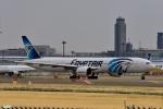 妄想竹さんが、成田国際空港で撮影したエジプト航空 777-36N/ERの航空フォト(写真)