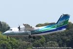 tabi0329さんが、福岡空港で撮影したオリエンタルエアブリッジ DHC-8-201Q Dash 8の航空フォト(写真)