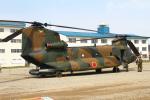 りんたろうさんが、高田駐屯地で撮影した陸上自衛隊 CH-47JAの航空フォト(写真)