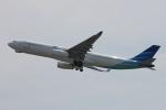 uhfxさんが、関西国際空港で撮影したガルーダ・インドネシア航空 A330-343Xの航空フォト(写真)