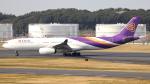 誘喜さんが、成田国際空港で撮影したタイ国際航空 A330-343Xの航空フォト(写真)