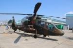 ショウさんが、霞目駐屯地で撮影した陸上自衛隊 OH-1の航空フォト(写真)