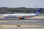 神宮寺ももさんが、成田国際空港で撮影したスカンジナビア航空 A340-313Xの航空フォト(写真)