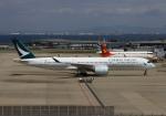 LOTUSさんが、関西国際空港で撮影したキャセイパシフィック航空 A350-941XWBの航空フォト(写真)