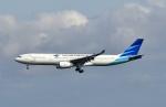 kix-boobyさんが、関西国際空港で撮影したガルーダ・インドネシア航空 A330-343Eの航空フォト(写真)