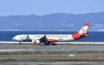 kix-boobyさんが、関西国際空港で撮影したエアアジア・エックス A330-343Xの航空フォト(写真)