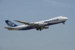 地主さんが、成田国際空港で撮影した日本貨物航空 747-8KZF/SCDの航空フォト(写真)