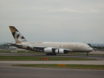 PW4090さんが、ロンドン・ヒースロー空港で撮影したエティハド航空 A380-861の航空フォト(写真)