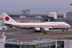 Spot KEIHINさんが、羽田空港で撮影した航空自衛隊 747-47Cの航空フォト(写真)