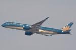B747‐400さんが、羽田空港で撮影したベトナム航空 A350-941XWBの航空フォト(写真)